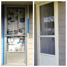 painting aluminum sliding glass doors