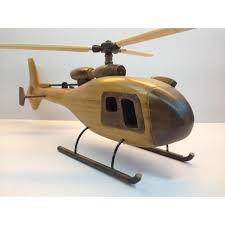 handmade wooden home decorative novel vintage helicopter model b