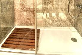 shower walls base large size of installation guide instructions on concrete floor mustee pan durabase