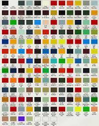 Matter Of Fact Automotive Paint Color Charts Online The