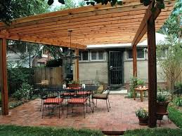 attached home patio backyard pergola how to build a the house bar deck outdoor