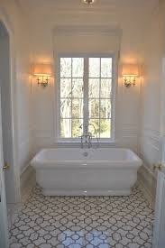 decorative bathroom tiles trellis tile floor transitional bathroom the enchanted home best style