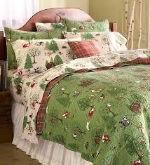 25+ unique Cotton quilts ideas on Pinterest | Twin quilt size ... & Woodland Friends Cotton Quilt Set - A lovely design features a forest of  furry friends, Adamdwight.com