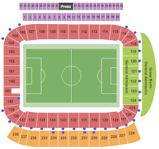 Dignity Sports Park Seating Chart Dignity Health Sports Park Stadium Tickets Carson Ca