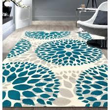 teal blue rug modern fl design blue area rug teal blue round area rug teal blue rug