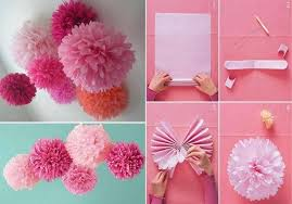 How To Make Rose Flower With Tissue Paper How To Make Tissue Paper Rose Flower