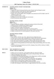 Graphic Design Intern Resume Graphic Design Intern Resume Samples Velvet Jobs 2