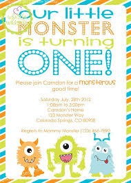 Lil Monster Birthday Invitations Our Little Monster Birthday Invitation Custom By Whittlewhimsy