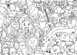 Small Picture Adventure Time Adventure Time Coloring Pages Coloring Home