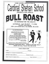 bull roast cardinal shehan school bull roast 2017