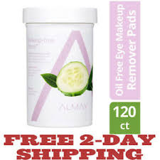 image is loading almay oil free eye makeup remover pads wipes
