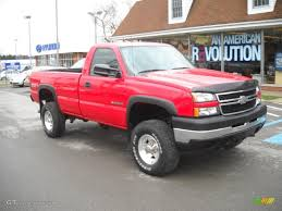 2007 Victory Red Chevrolet Silverado 2500HD Classic Work Truck ...