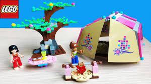 Đồ chơi lắp ráp con gái LEGO FRIENDS LỀU CẮM TRẠI MIA - Lego friends - Đồ  chơi trẻ em (Chim Xinh) - YouTube