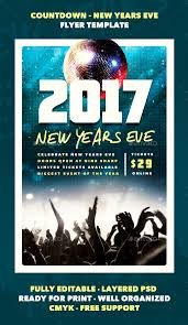 Flyer Samples For An Event New Countdown New Years Eve Flyer Template By Furnace GraphicRiver