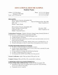 Social Work Resume Examples Unique 20 Social Worker Resume Samples