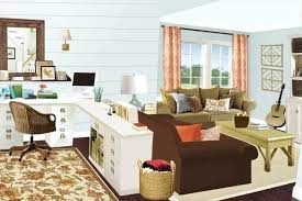 office desk in living room. Wonderful Office Living Room Dining Office Combo Awesome Ideas  Images About On Guest   To Office Desk In Living Room O