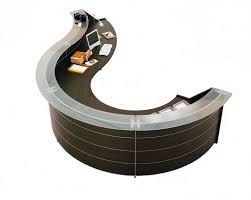 office furniture office reception area furniture ideas. luna wenge office reception desk in circular design furniture area ideas