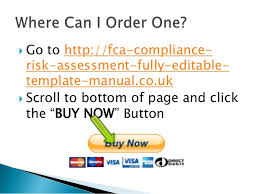 Regulatory Compliance Risk Manual Presentation