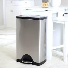 13 gallon kitchen trash can reviews black 13 gallon kitchen trash can cube simplehuman trash cans on tile flooring oxo 13 gallon trash can