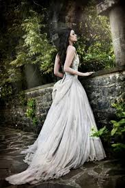 white gothic wedding dress naf dresses