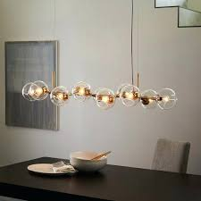 west elm lighting staggered glass chandelier 12 light rep