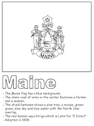 Small Picture Maine State Flag