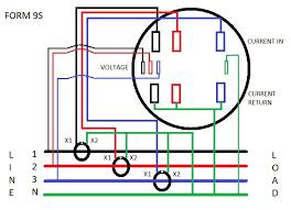 metering current transformer wiring diagram example electrical 33kv current transformer wiring diagram form 9s meter wiring diagram learn metering rh learnmetering com current transformer circuit diagram current transformer