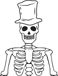 Small Picture Skeleton Coloring Page Miakenasnet
