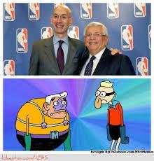 "NBA Memes on Twitter: ""NBA Front Office: David Stern & Adam Silver ... via Relatably.com"