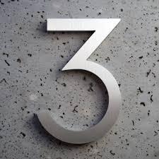 Decorating apartment door numbers pictures : Contemporary Door Numbers - peytonmeyer.net