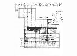Basement Floor Plan  Growing Up In A Frank Lloyd Wright House By Frank Lloyd Wright Floor Plan