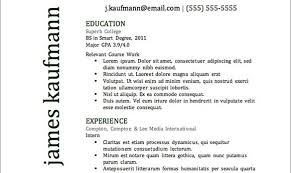 get the resume template media resume template