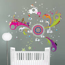 fun of the fair giant wall stickers by funky little darlings