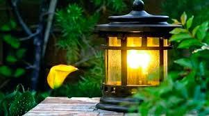 best solar lamp posts for garden