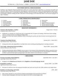 Customer Service Resume Skills - Sample Resume Cover Letter For ...
