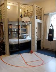 O Basketball Bedroom If I Could Ever Afford This When Have Kids Would  Be Awesome