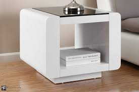 white side tables. Modern White Side Tables With Table S