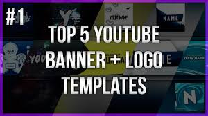 Youtube Logo Templates Top 5 Youtube Banner Logo Templates 1 Free Download