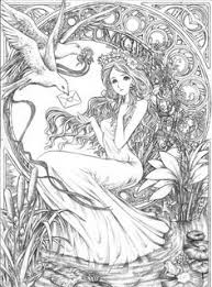 Adult Fantasy Free Coloring Pages On Art Coloring Pages