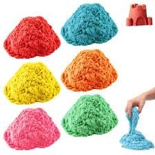 1 play magic sand 180g kid child diy indoor play craft non toxic toy colorful