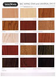 Sherwin Williams Bac Wiping Stain Color Chart Misty Mountain Mfg