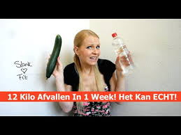 1 kilo afvallen in 1 week