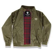 Limited Edition Madness Harrington Olive Jacket Clothing Madness Uk