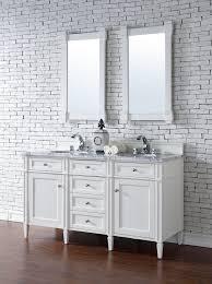 60 bathroom vanity double sink white. brittany 60\ 60 bathroom vanity double sink white o