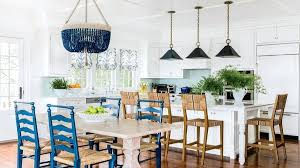 beach house kitchen decorating with the colors of the sea is always a good idea indigo beach house