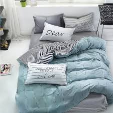 wonbye bed and pillow sheet bedding duvet cover set best bed sheet 100 percent cotton teal