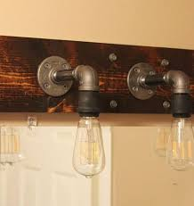 industrial lighting fixtures. diy industrial bathroom light fixtures lighting