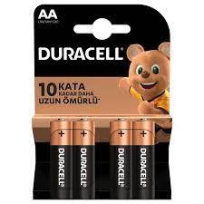 AA Alkalin Piller - Duracell Piller