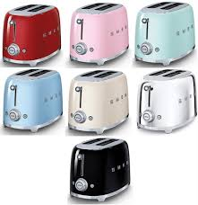 Retro Toasters smeg retro style 2 slice toaster 950w electric choose from 7 6035 by xevi.us