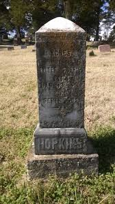 Agnes Marie Brickey Hopkins (1826-1902) - Find A Grave Memorial